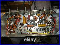 Vintage Tube Amplifiers Mono Blocks 6l6 P. P + Pre-amps Electrohome Clarion