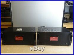 Vintage VTL MB-225T Vacuum Tube Logic Monoblock Amplifiers (Pair)