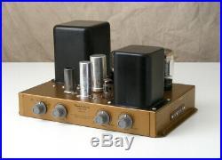 Vtg Heathkit A-9C Mono TUBE Amplifier 6L6 Monoblock Hi-Fi/Guitar AMP Works