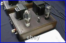 Welborne Laboratories Drd 300b Tube Monoblock Amplifiers Pair