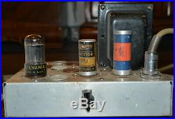 Williamson Audio Tube Amplifier Amp Mono Block Untested with cords